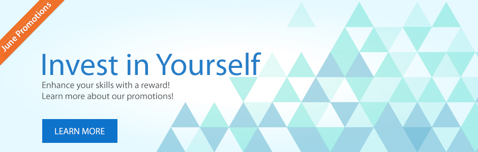 Invest in yourself April Promotion